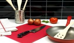 фото 1144  Кухонная гибкая разделочная доска набор (4шт) цена, отзывы