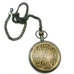 фото 7724  Часы карманные из черненой латуни Лоцман цена, отзывы