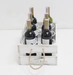 фото 7075  Подставка для вина ящик на 6 бутылок цена, отзывы