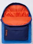 фото 8084  Рюкзак GiN Bronx голубой с синим карманом цена, отзывы