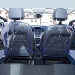 фото 8256  Защита для автомобильного кресла Синяя цена, отзывы