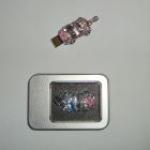 фото 3210  Флешка 8gb металл со стразами Машина цена, отзывы