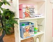 фото 23818  Короб складной для детских игрушек Кенгуру голубой цена, отзывы