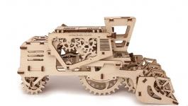 фото 9544  Механический 3D пазл Комбайн цена, отзывы