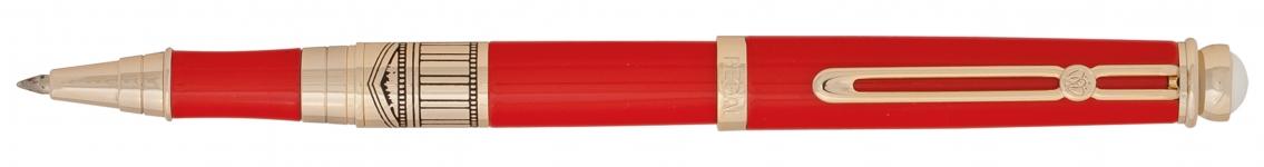 фото 10318  Набор ручек в бархатном футляре Арес красный цена, отзывы