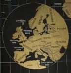 фото 4653  Черная скретч-карта мира в подарочном тубусе цена, отзывы