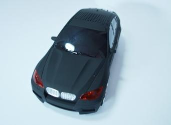 купить Колонка - Машинка BMW X6 (колонка, плеер mp3, радио) матовая цена, отзывы