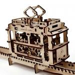 фото 9548  Механический 3D пазл Трамвайчик цена, отзывы
