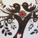 фото 8933  Кот Мартовский с росписью дерево с птицами цена, отзывы