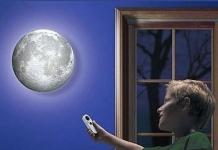 купить Светильник Луна на стену цена, отзывы