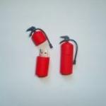 фото 3205  Флешка 8gb силиконовая Огнетушитель цена, отзывы
