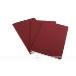 фото 6087  3 блокнота Moleskine Cahier средних красный цена, отзывы