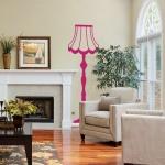 фото 5813  Наклейка на Стену Floor Lamp! цена, отзывы