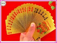 фото 3044  Карты игральные покерные 100 долларов золото цена, отзывы