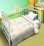 фото 9132  Комплект постельного белья детский Мой ангел Малыши цена, отзывы