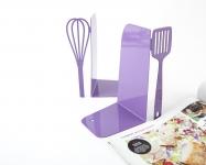 фото 9918  Держатель для книг венчик и лопатка фиолетовая цена, отзывы