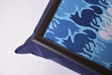 фото 10157  Поднос на подушке Синий лис цена, отзывы