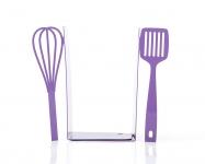 фото 9915  Держатель для книг венчик и лопатка фиолетовая цена, отзывы