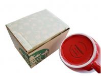 фото 4460  Керамическая красная чашка Starbucks цена, отзывы