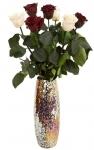 фото 1818  Долгосвежая роза Багровый Гранат в подарочной упаковке (не вянут от 6 месяцев до 5 лет) цена, отзывы