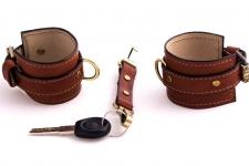 фото 9448  Кожаные браслеты для пар + ключница цена, отзывы
