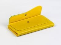 фото 8814  Кошелек Хоской (желтый-зеленый) цена, отзывы