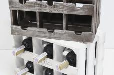 фото 7085  Подставка для вина ящик на 6 бутылок модульный горизонтальный цена, отзывы