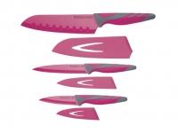 фото 9208  CW Набор ножей с ножнами и мягкой ручкой 3 единицы цена, отзывы