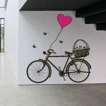 фото 5779  Наклейка Интерьерная Bicycle цена, отзывы