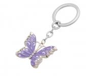 фото 10392  Подарочный набор ручка и брелок Мелита фиолетовый цена, отзывы
