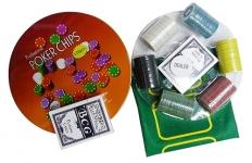 фото 2323  Покерный набор в Металлической коробке 120 цена, отзывы
