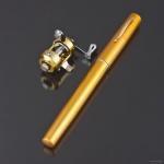 фото 3237  Портативная карманная телескопическая мини спиннинг удочка-ручка цена, отзывы