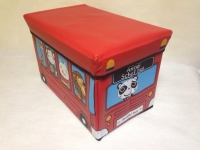 фото 2957  Ящики-сидения для игрушек в виде автобуса цена, отзывы