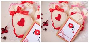 фото 7758  Подарочный набор Мішечки з коханням цена, отзывы