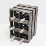 фото 7080  Подставка для вина ящик на 6 бутылок модульный вертикальный цена, отзывы