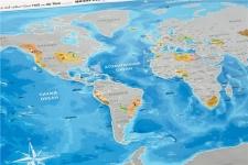 фото 10234  Скретч карта Discovery Maps World на украинском языке с авоськой цена, отзывы