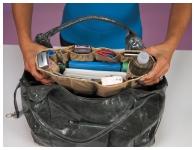 фото 2717  Набор органайзеров для сумок Кенгуру (2шт) цена, отзывы