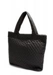 фото 4069  Болоньевая сумка на синтепоне черная Eco  цена, отзывы