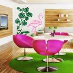 фото 5770  Интерьерная Наклейка Flamingo цена, отзывы