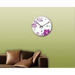 фото 5713  Декоративные настенные часы Orchid цена, отзывы
