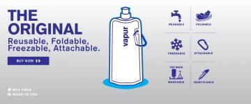 фото 2258  Фляга для воды Vapur Anti-Bottle в ассотрименте цена, отзывы