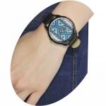 фото 3993  Часы наручные синяя вышиванка цена, отзывы