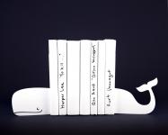 фото 10064  Держатель для книг Кит белый цена, отзывы