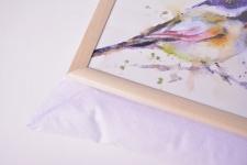 фото 10135  Поднос с подушкой Синицы цена, отзывы