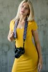 фото 6222  Дизайнерский ремень для фотоаппарата фиолетовые огурцы цена, отзывы