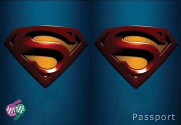 купить Обложка на паспорт Супермена цена, отзывы