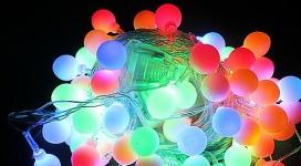 купить Гирлянда светодиодная Лампочки 38 led цена, отзывы