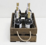 фото 7074  Подставка для вина ящик на 6 бутылок цена, отзывы