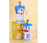 фото 9556  Чашка Кот Doraemon 650мл  4 вида цена, отзывы