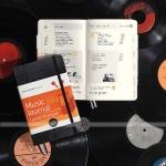 фото 5987  Блокнот Moleskine Passion Музыка средний черный цена, отзывы